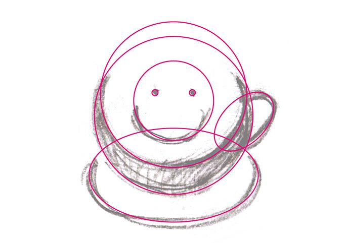 楕円ツールのイメージ