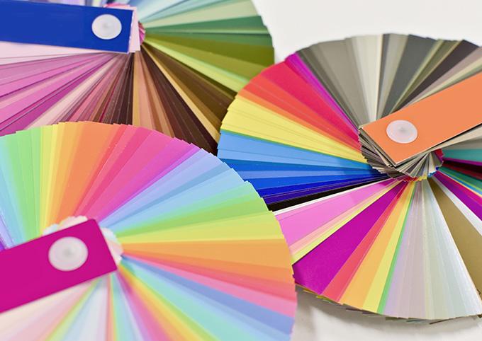 カラーチャートのイメージ