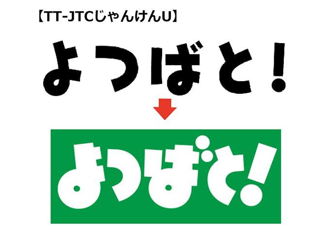 よつばと!タイトルロゴ