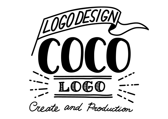 トレースしたロゴのイメージ