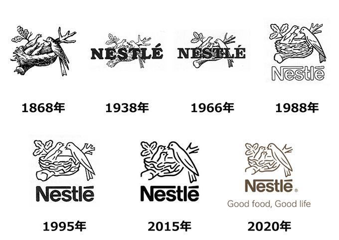 ネスレロゴの歴史