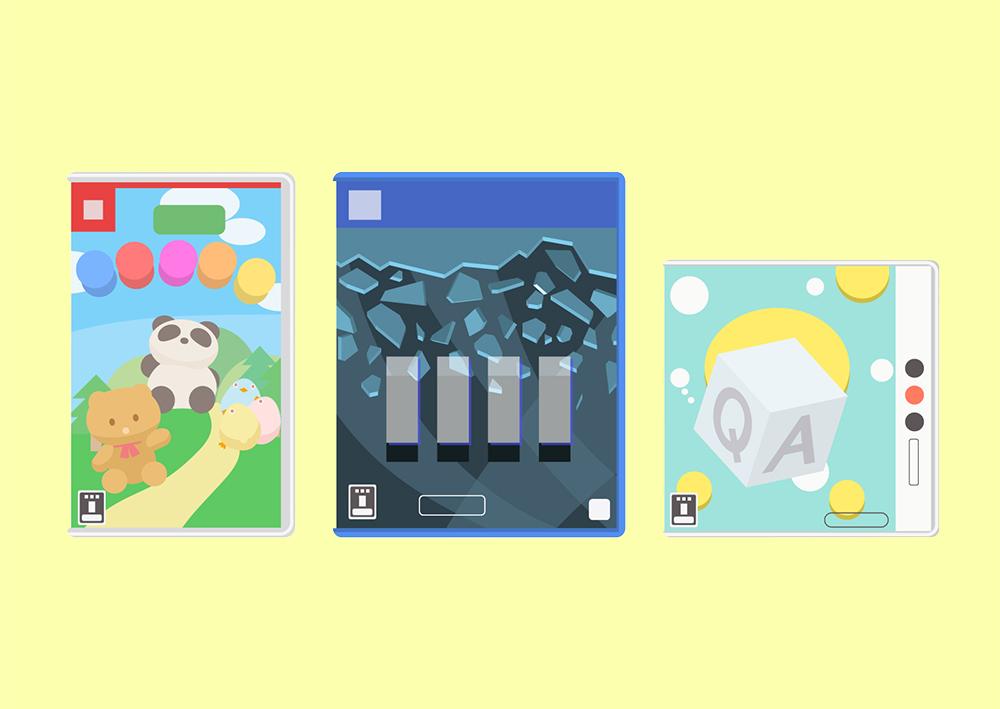 ゲームのタイトルロゴ2 〜デザインの参考になる!実例のご紹介〜