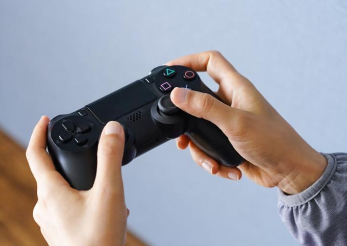 ゲームで遊ぶイメージ