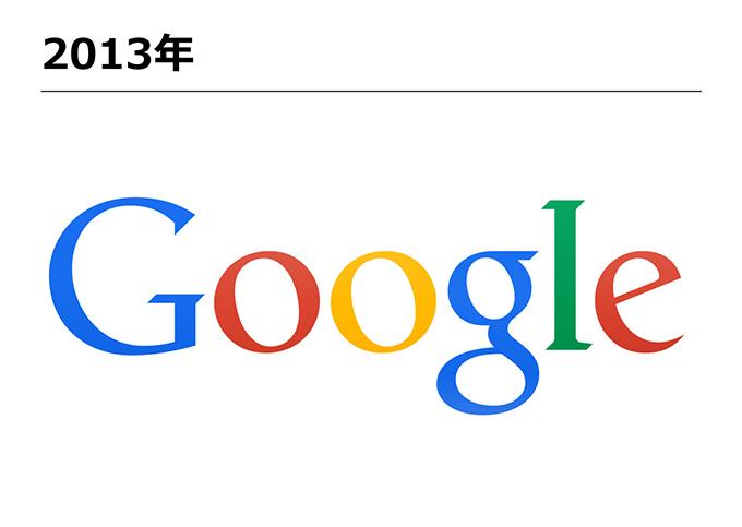 Googleロゴ-2013