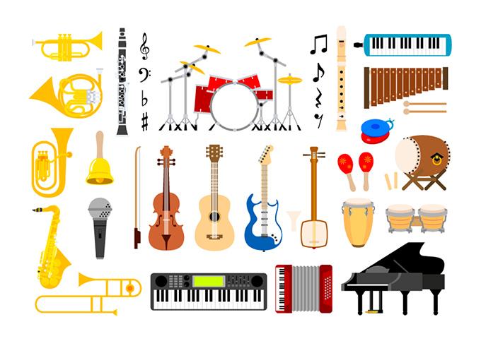 音楽モチーフのイメージ