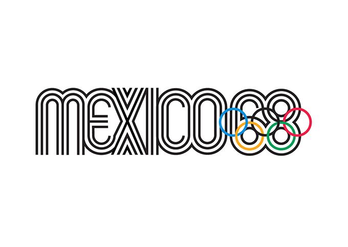 1968年メキシコシティー大会エンブレム