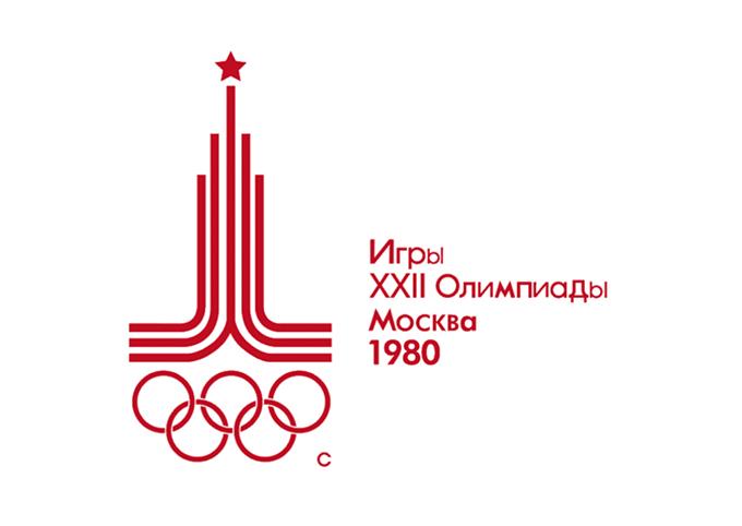 1980年モスクワ大会エンブレム