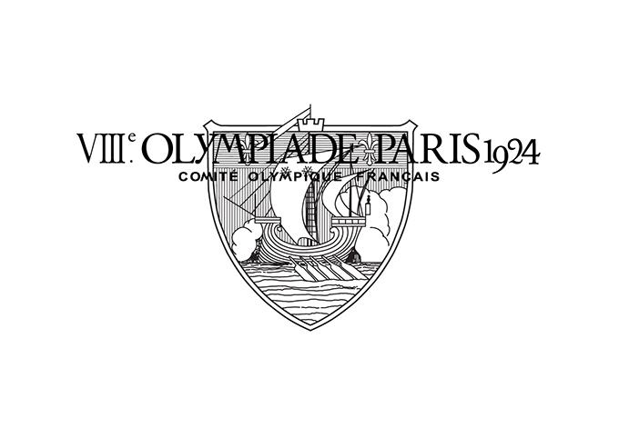 1924年パリ大会エンブレム