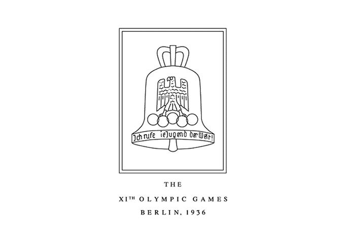 1936年ベルリン大会エンブレム