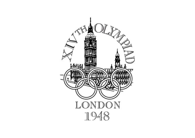 1948年ロンドン大会エンブレム