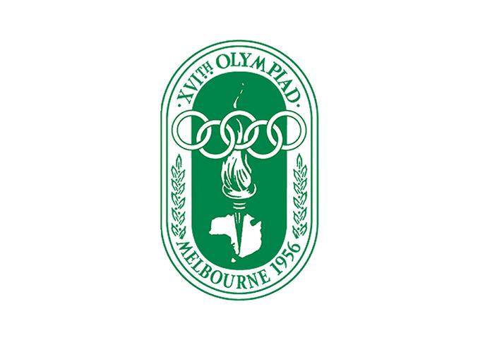 1956年メルボルン大会エンブレム