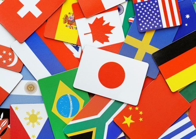 世界の国旗のイメージ